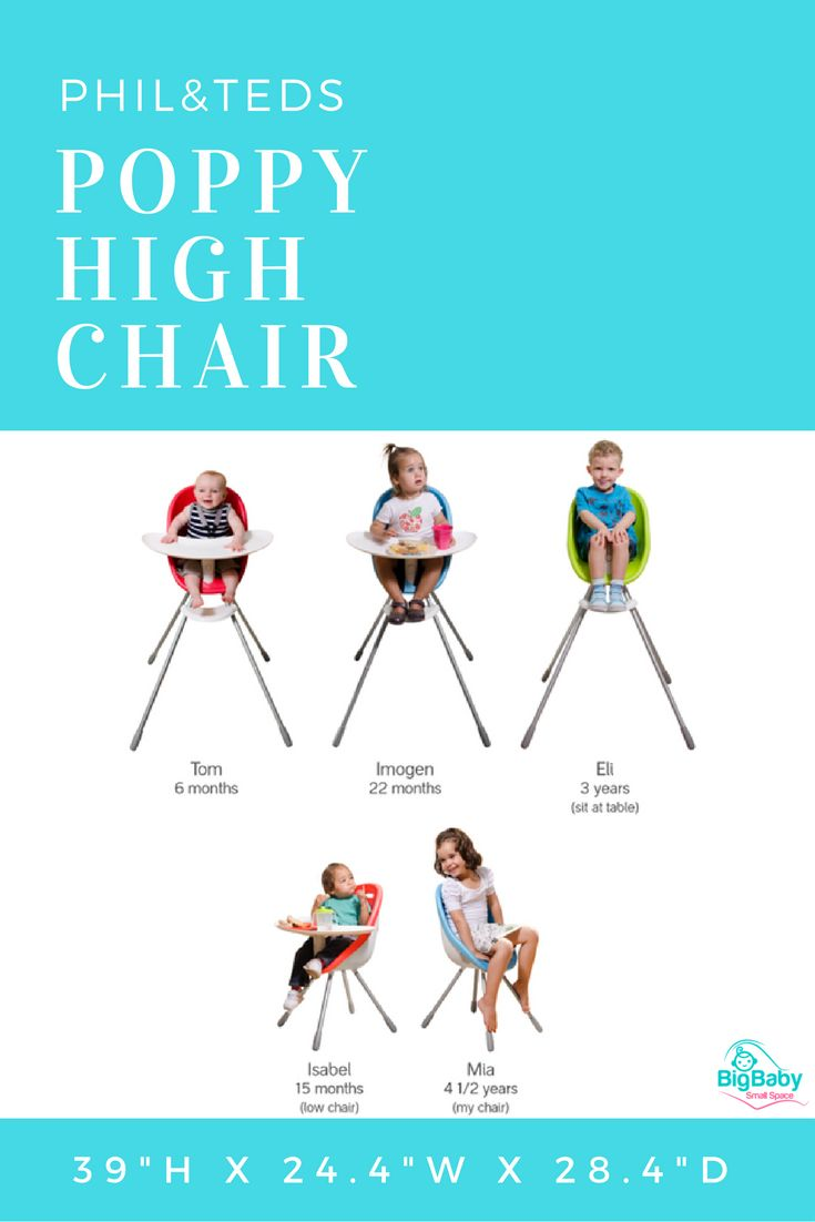 Amazing Meet Philu0026teds Poppy High Chair. A Super Cute, Great Value, Compact High  Chair