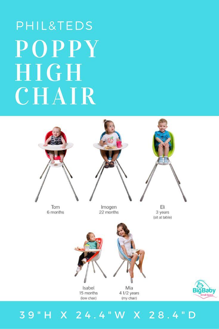 Meet Philu0026teds Poppy High Chair. A Super Cute, Great Value, Compact High  Chair