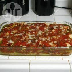 Chicken and Mushroom Polenta Lasagne @ allrecipes.co.uk