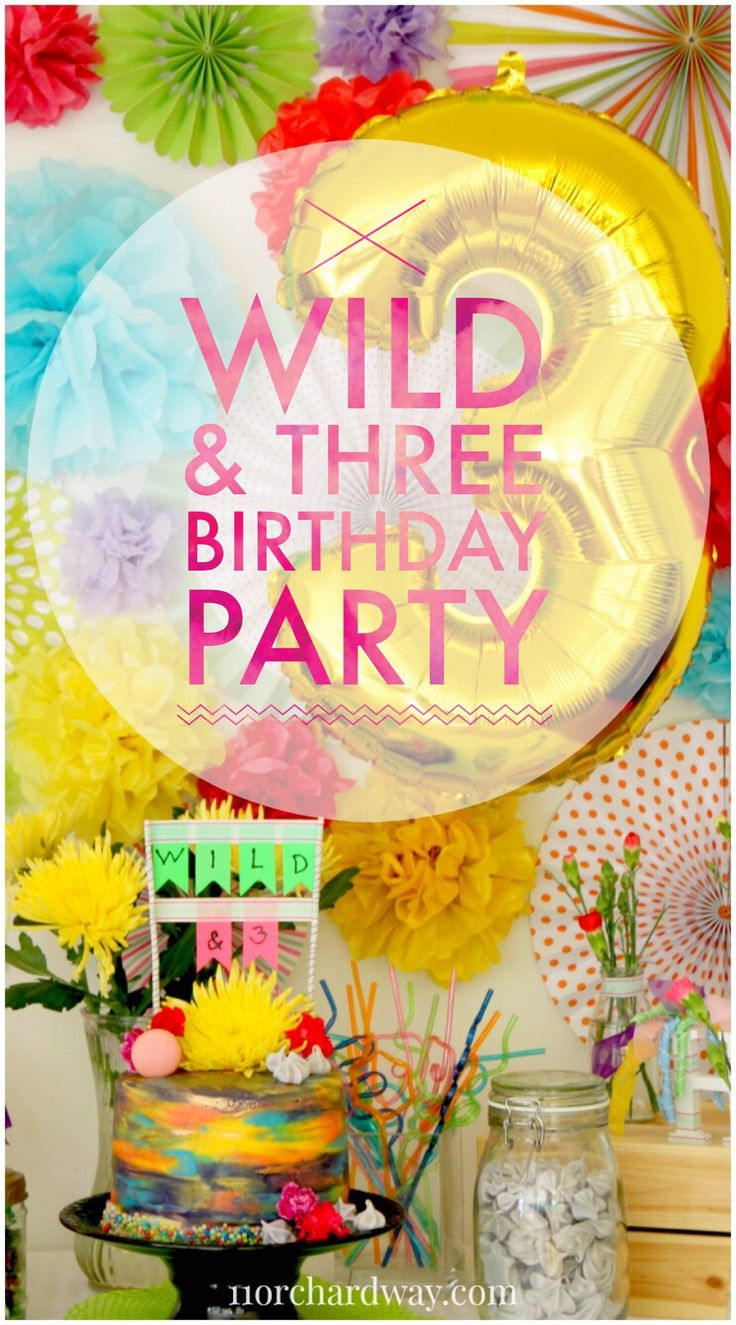 Young, Wild & Three Party!