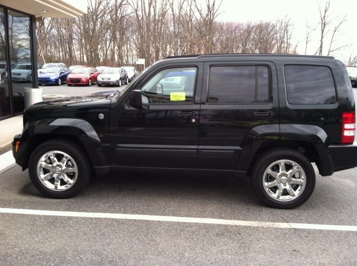 My new 2012 Jeep Liberty...love the sky slider roof! My