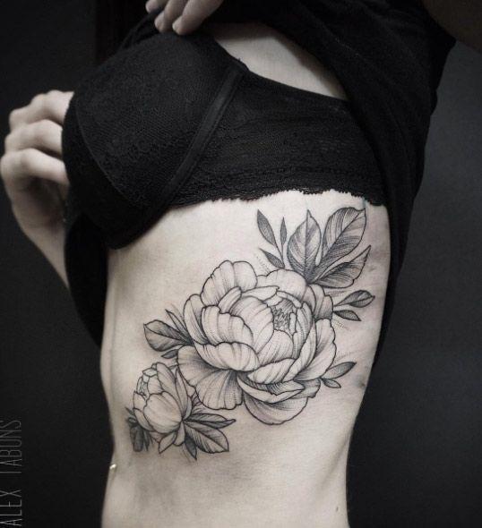 Oltre 1000 idee su Rosa Tatuaggi Costola su Pinterest | Pizzo Tatuaggi ...