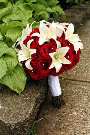 poinsettia wedding bouquets | wedding wedding flowers , 871971027 DGrDw M