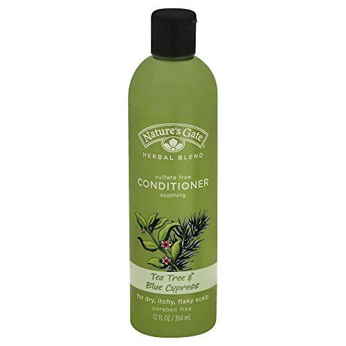 Natures Gate Soothing Shampoo for Dry Itchy Flaky Scalp  Tea Tree  Blue Cypress  12 oz * You can find more details by visiting the image link.