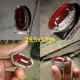 Chalcedony Red Raflesia Cat Eye Origin Bengkulu Indonesia