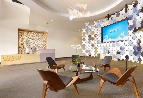 Das Office von Skype in Palo Alto, Kalifornien.