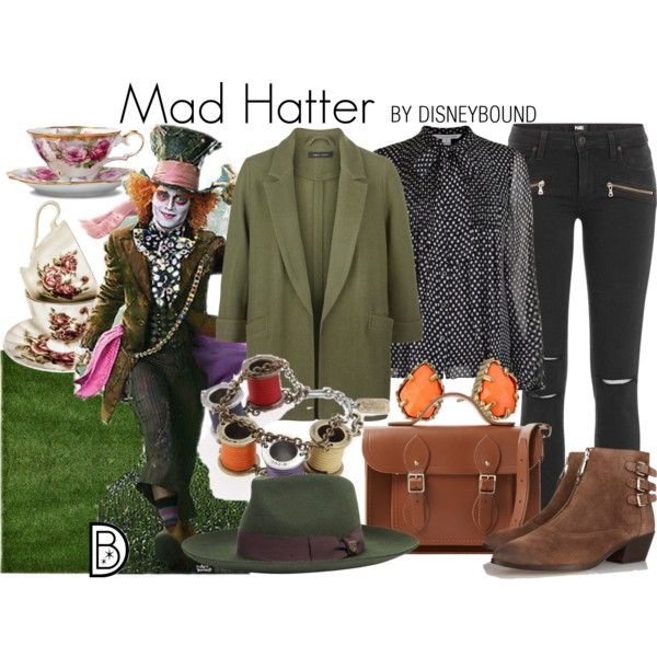 Mad Hatter from live action Alice in wonderland