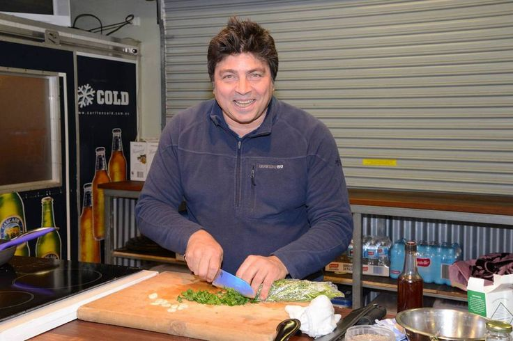 Celebrity chef Geoff Jansz ran cooking demonstrations at the Home and Garden Show in Bowral 2014.