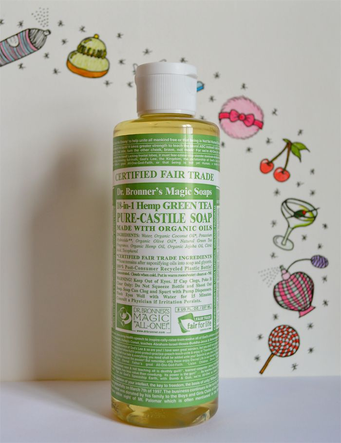 Tattoo Aftercare Tips with Dr Bronners Organic Liquid Soaps: SUGAR, DARLING?