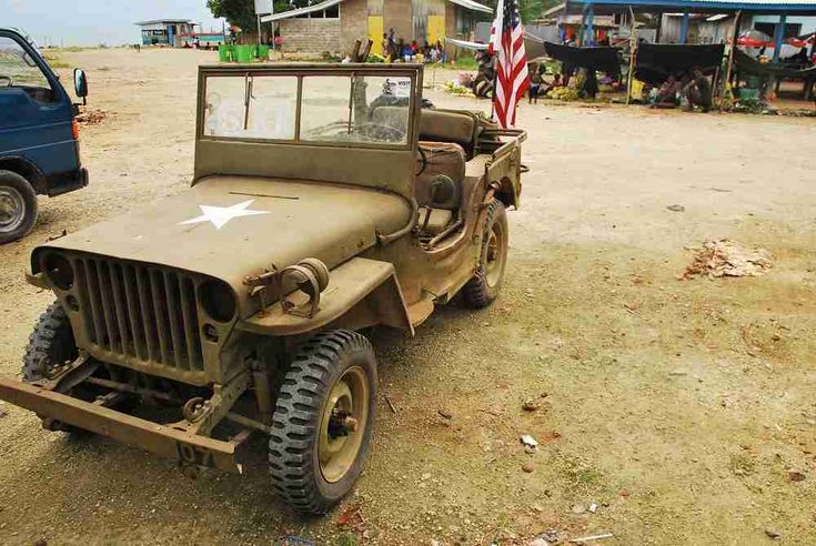 World War 2 Jeep. Some are still going! #jeep