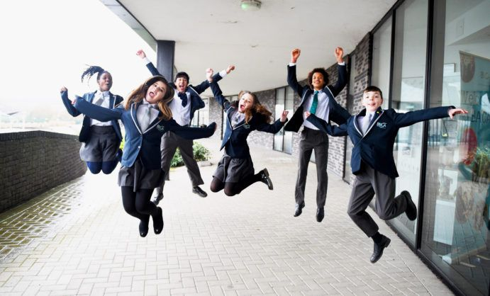 BACA students celebrate their good Ofsted report