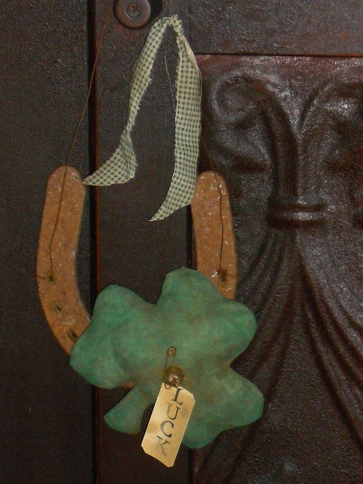 Lucky Horseshoe for Saint Patricks Day | Holiday Affairs ...