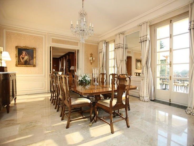 Amazing 1920u0027s Dining Room, In Use Now. Check Out The Subtle Wall Pattern U0026 Marble