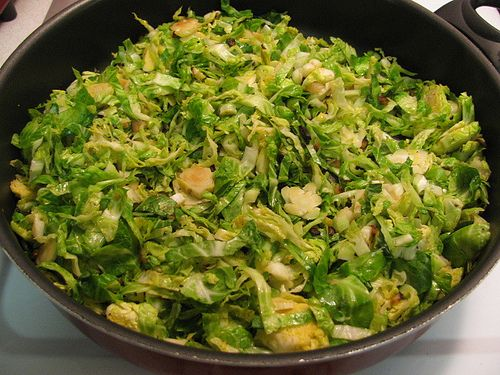 Gina's Skinny Sauteed Brussels Sprouts — one of my favorite every day vegetables