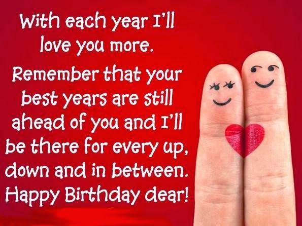 happy birthday quotes for husband wife boyfriend or