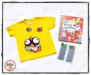 Image of Camiseta Loko Monster Amarilla