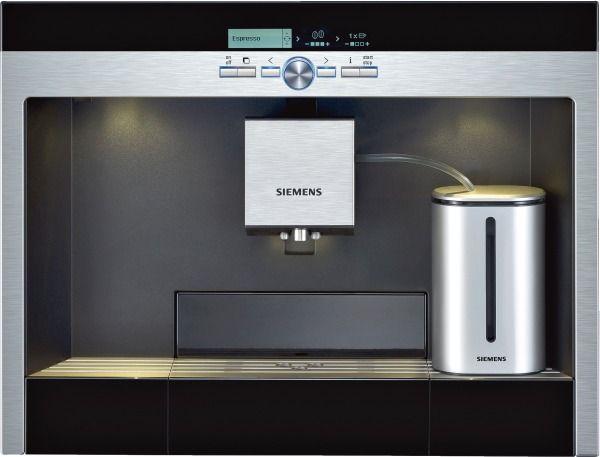 Photo Machine à café Encastrable Siemens TK76K573