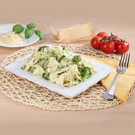 Cestoviny s brokolicou a syrom