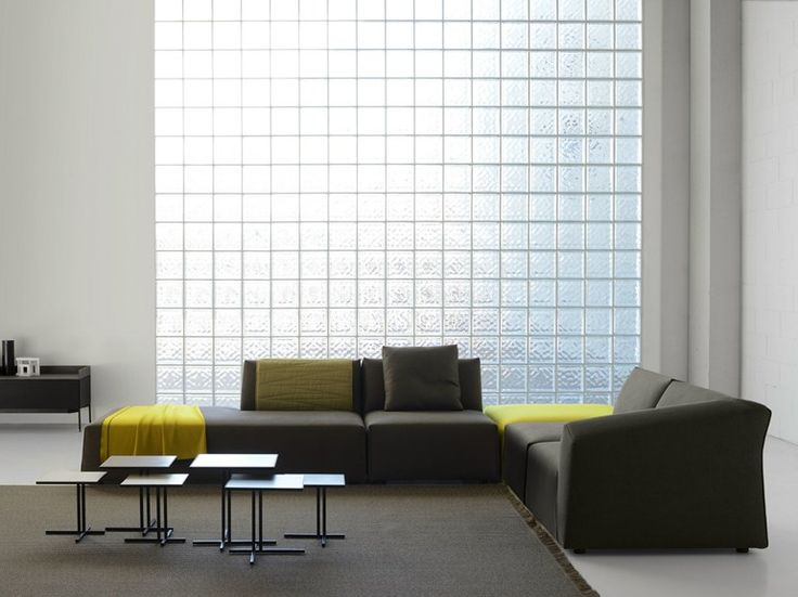 THEA Sofa With Chaise Longue By MDF Italia Design Lina Obregon, Carolina  Galan