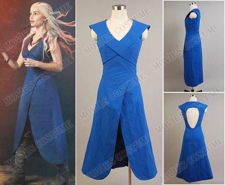 Daenerys Targaryen Dress costume  for Game of Thrones  Cosplay