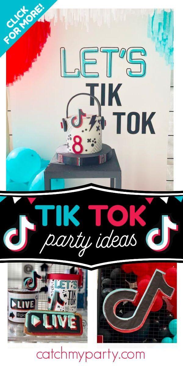 Tik Tok Party Birthday Let S Tik Tok Catch My Party Party Activities Kids Birthday Party Activities Bday Party Kids