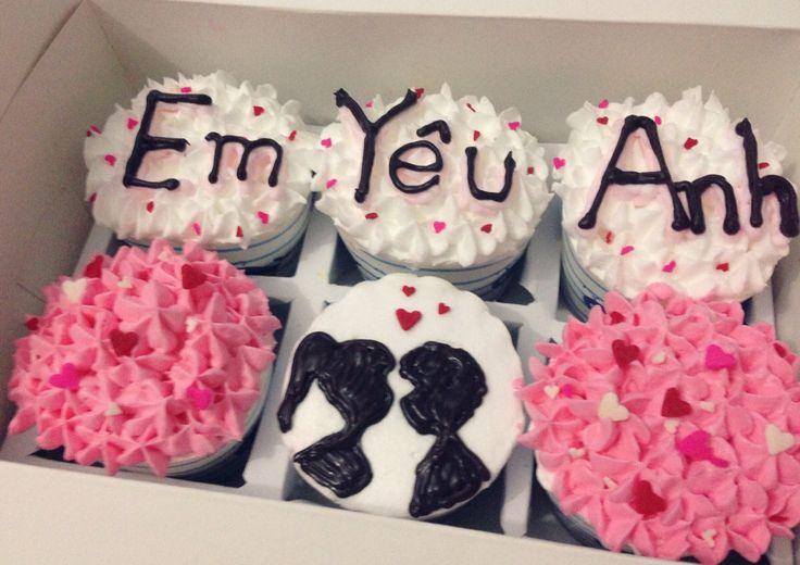 #cupcake #love #couple