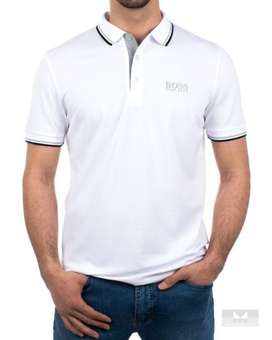 Polos Hugo Boss - Paddy Pro - Blanco