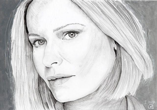 Kasia Oetelaar Art: Portrait / Portret: Paulina Młynarska