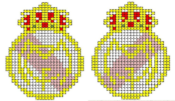 patrones de llaveros a punto de cruz (pág. 2) | Aprender manualidades es facilisimo.com