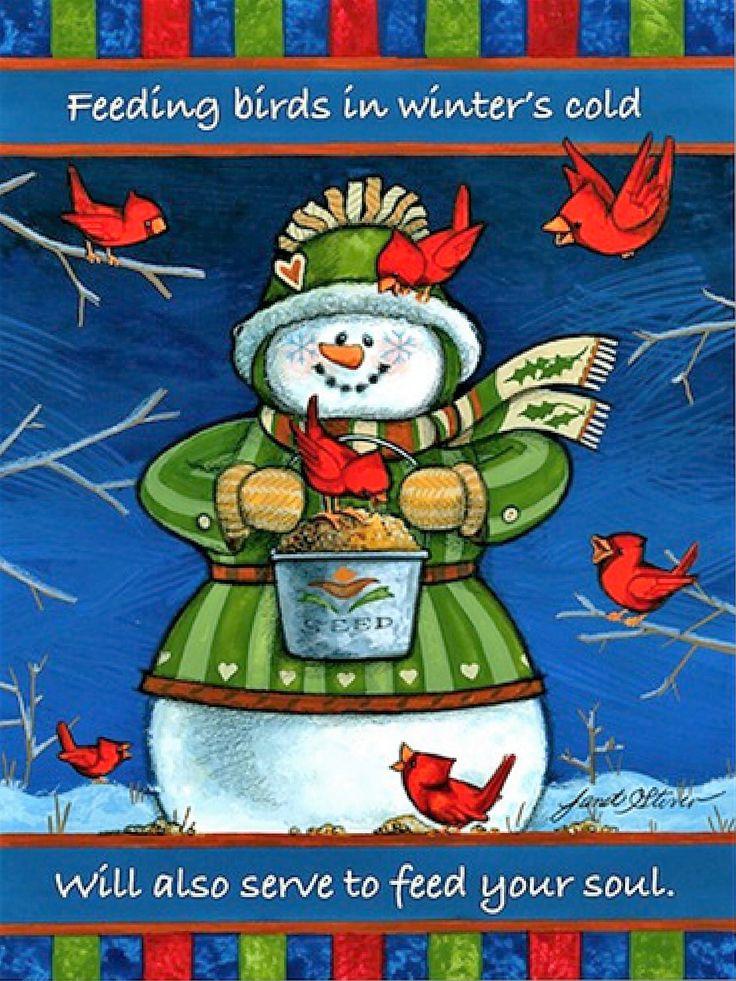 Snow Christmas Cards