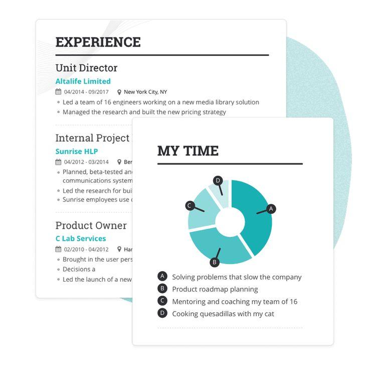 Professional cv resume builder pricing enhancv free