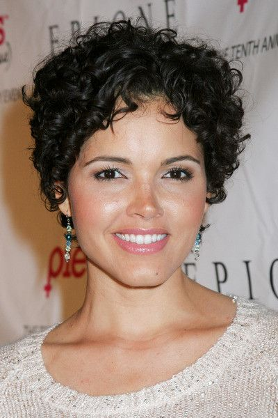 Susie Castillo-IHA-013950.jpg | Curly hair styles, Short hair styles, Short curly hair