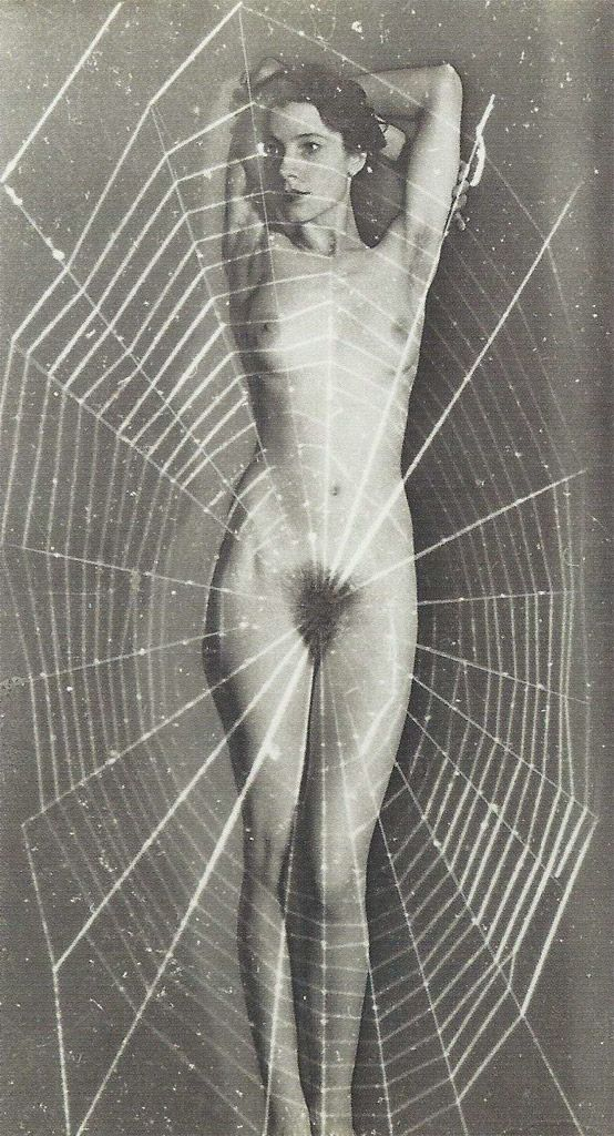 Man Ray. Spider Woman, 1948
