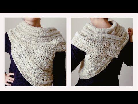 Cuello-chaleco a ganchillo de Katniss de la pelicula Juegos de hambre - Patrones Crochet