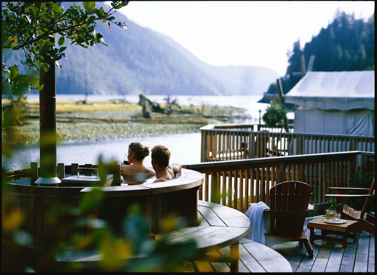 glamping ideas | glamping resort | Canada | camping | Clayoquot Wilderness Resort | Glamping.com
