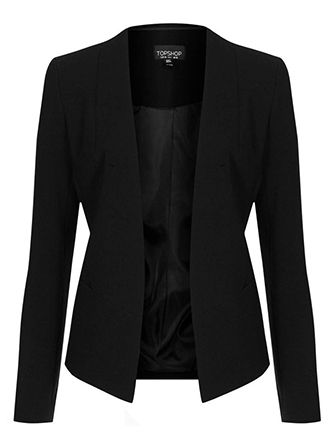 An affordable black blazer that professionals love