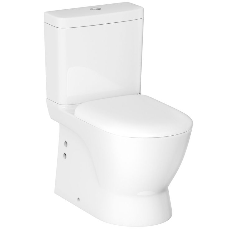 Cooke & Lewis Oke Close-Coupled Toilet with Soft Close Seat | Departments | DIY at B&Q