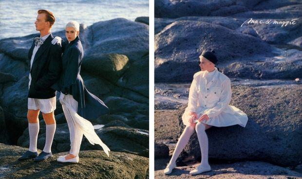 Mac & Maggie kousentrend 1987, Dit was sexy dicteerde Mac & Maggie. En daarmee was de witte kous af.