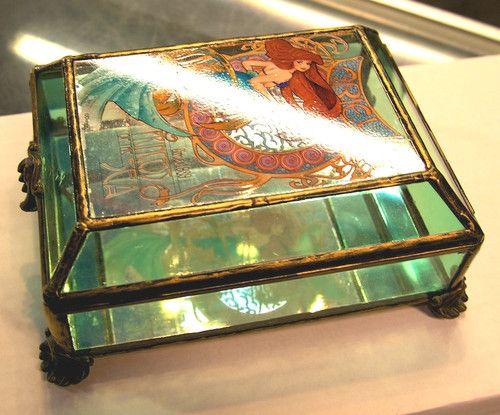 Disney The Little Mermaid Art Nouveau Ariel Jewelry Box Trinket of Princess RARE | eBay