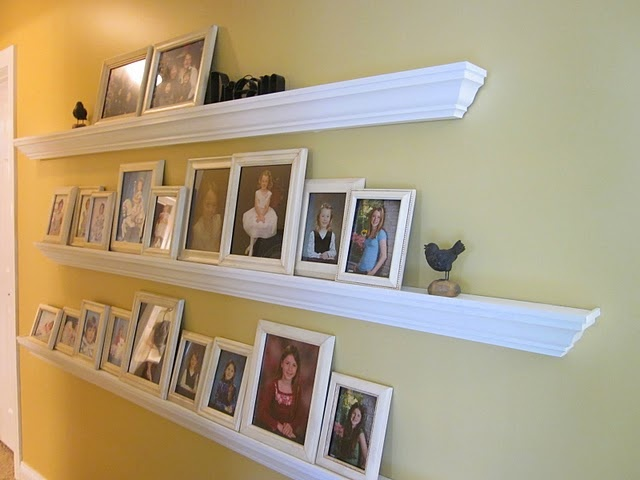 40 best images about crown molding on pinterest grey - Shelving for picture frames ...