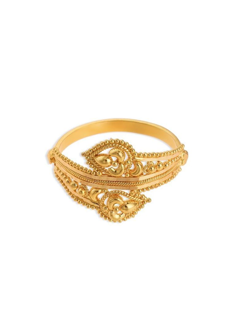 Pretty Gold Finger Ring By Tanishq For Girl Gallery - Jewelry ...