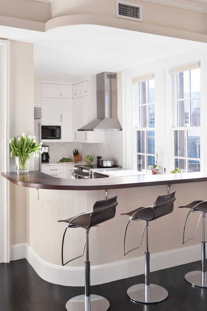 Back Bay Project - contemporary - kitchen - boston - Ben Gebo Photography