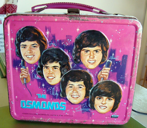 The Osmonds metal Lunchbox vintage 1973 by maematthews on Etsy, $35.00