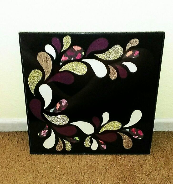 My scrapbook wall art. For purchase, please contact me!