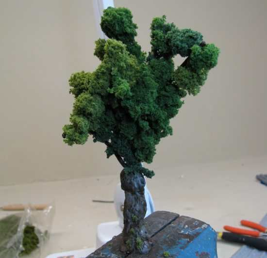 How to make miniature trees - Dolls House Magazine - Crafts