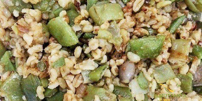 Bulgurlu Fasulye Diblesi | Mutfakta Yemek Tarifleri
