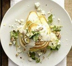 Салат из отварной трески в груше