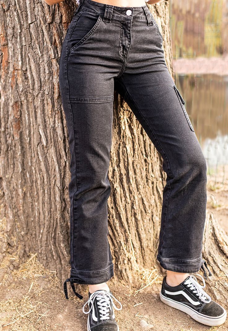 Pants Cinta Black Ropa kawaii, Ropa, Pants