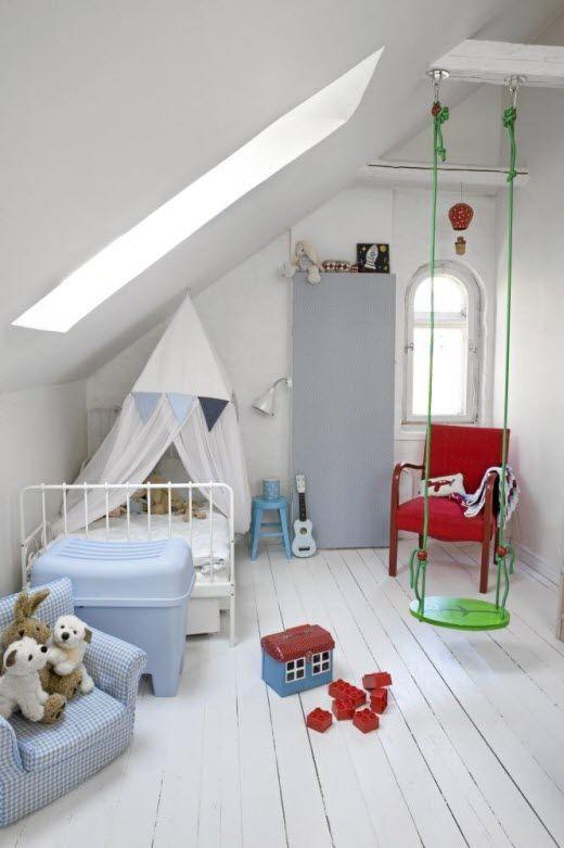 Se bilder her og få inspirasjon til hvordan du kan pusse opp barnerommet. Foto: Mari Eriksson/Rom 123