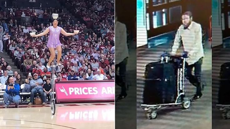 Acrobat 'heartbroken' after thief steals 7-foot unicycle from airport baggage claim